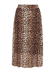 SL Easton Skirt - PECAN BROWN LEOPARD PRINT