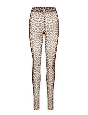 SL Easton Legging - PECAN BROWN LEOPARD PRINT
