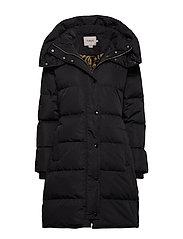 SL Mala Puff Coat Long - BLACK