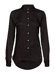 SL Jeanette Shirt LS - BLACK