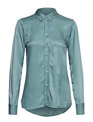 SL Jeanette Shirt LS - SMOKE BLUE