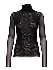 SL Corn T-Shirt LS - BLACK