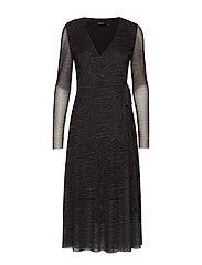 SL Jewel dress - FOREST NIGHT PRINT