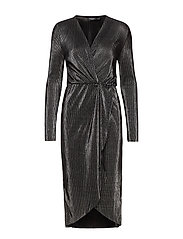 SLRylee Dress LS - GUN METAL
