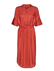 SLZaldana Dress - CINNABAR