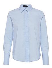 SLPaper Shirt LS - OMPHALODES BLUE