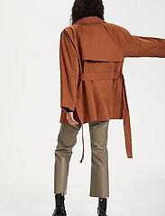 Soaked in Luxury - SLChicago Short Trenchcoat - trenchcoats - rubber - 4
