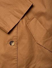 Soaked in Luxury - SLChicago Short Trenchcoat - trenchcoats - rubber - 8