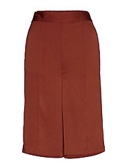 SLVeria Culotte Shorts - BARN RED