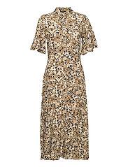 SLIndiana Rafina Shirt Dress SS - MULTIFLORAL PRINT ERMINE