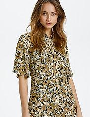 Soaked in Luxury - SLIndiana Rafina Shirt Dress SS - sommarklänningar - multifloral print ermine - 0