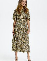 Soaked in Luxury - SLIndiana Rafina Shirt Dress SS - sommarklänningar - multifloral print ermine - 3