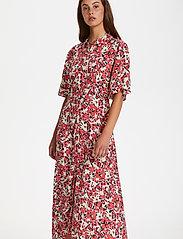 Soaked in Luxury - SLIndiana Rafina Shirt Dress SS - sommarklänningar - multifloral cardinal - 0