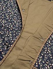 Soaked in Luxury - SLBanks Jacket LS - quiltede jakker - viol print parisian night - 8