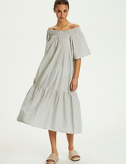 Soaked in Luxury - SLCalville Flor Dress SS - lichen blue - 3