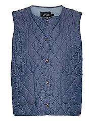SLAlf Waistcoat - CLASSIC BLUE DENIM