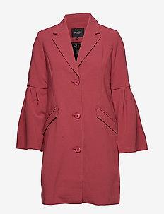 Tinna Coat - cienkie płaszcze - dry rose