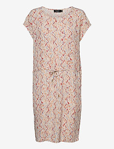 SL Lavada Dress - vardagsklänningar - whisper white splash print
