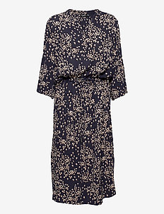 SL Zaya Dress - vardagsklänningar - parisian night small flower