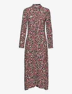 SLOda Shirt Dress - shirt dresses - victorian tapestry red