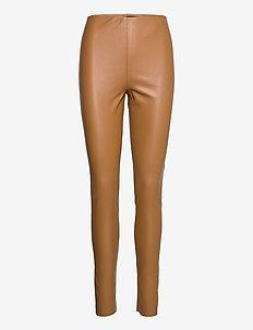 SLKaylee PU Leggings - læderbukser - rubber