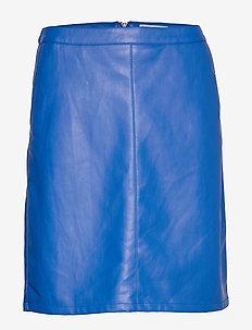 SL Tamara PU Skirt - NAUTICAL BLUE