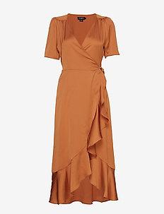 SL Karven Dress - PECAN BROWN