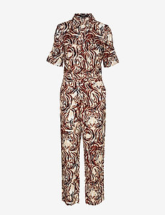 SL Keyla Jumpsuit - TIGER PRINT