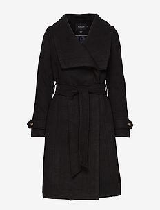 SL Canasta Coat - BLACK