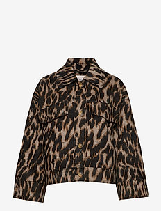SL Jethe Coat - ANIMAL JAQUARD