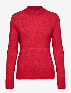 SL Angel Crew-Neck Pullover LS - HIGH RISK RED