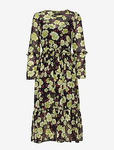 SL Carlie Dress - NILE FLOWER PRINT
