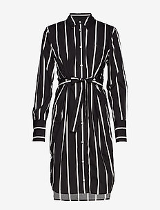 SL Konnie Shirt Dress - BLACK