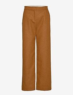 SL Indie Check Pants - BROWN SUGAR
