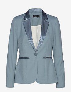 SL Beatrix Blazer - SMOKE BLUE