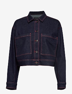 SL Zadie Jacket - DARK BLUE DENIM