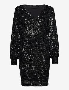 SLNicole Dress - krótkie sukienki - black