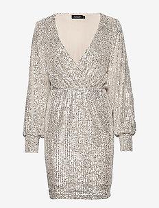 SLNicole Dress - OVERCAST