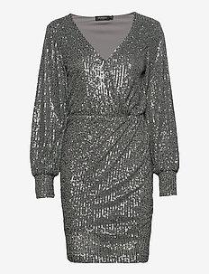 SLNicole Dress - krótkie sukienki - silver