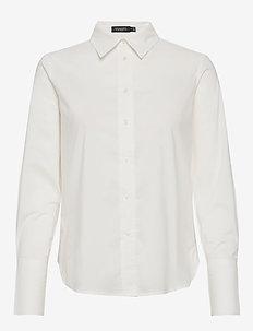 SLPaper Shirt LS - BROKEN WHITE