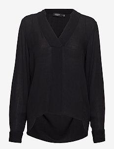 SL Zaya Shirt LS - BLACK