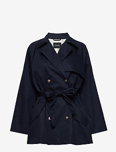 SLChicago Short Trenchcoat - NIGHT SKY