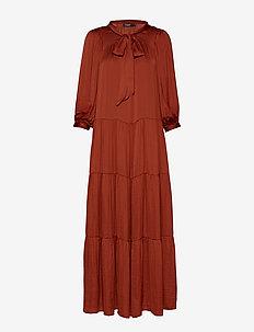 SLEverlyn Maxi Dress - BURNT HENNA