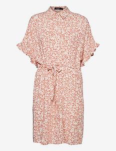 SLSaphira Dress - sommarklänningar - buttercup print autumn sunset