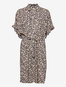 SLSaphira Dress - sommerkjoler - buttercup print parisian night