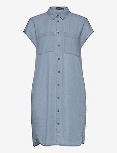 SLKesia Samira Tunic Dress - tuniken - medium blue denim