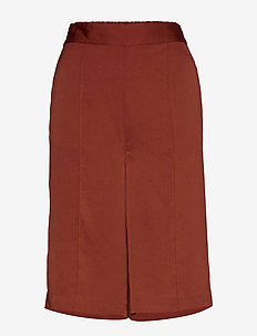 SLVeria Culotte Shorts - bermuda-shortsit - barn red