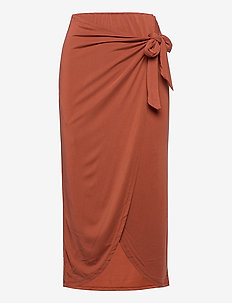 SLColuni Skirt - spódnice do kolan i midi - barn red