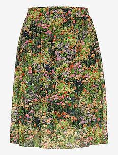 SLAjowan Poppie Skirt - midinederdele - floral garden
