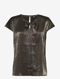 SLMinaj Top - bluzki z krótkim rękawem - golden surface